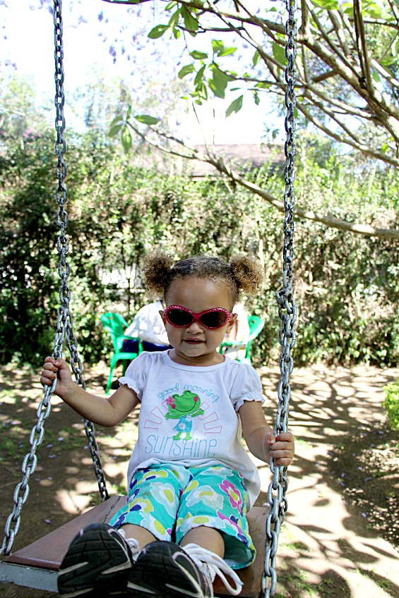 Elly on Swing