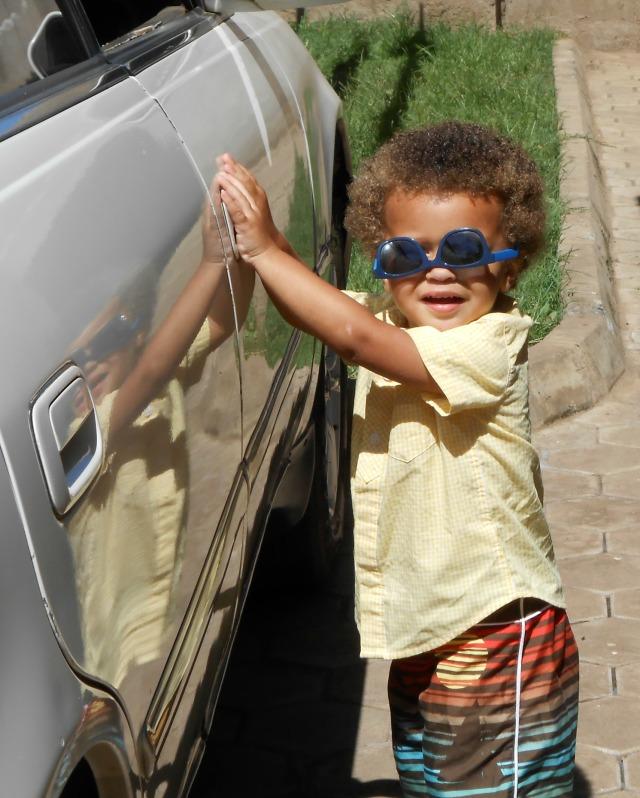 Max in Sunglasses