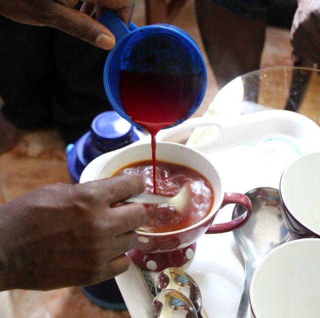 stirring