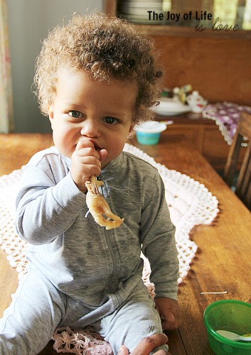 The Joy of Life is Love_Max Eats His First Chicken Foot